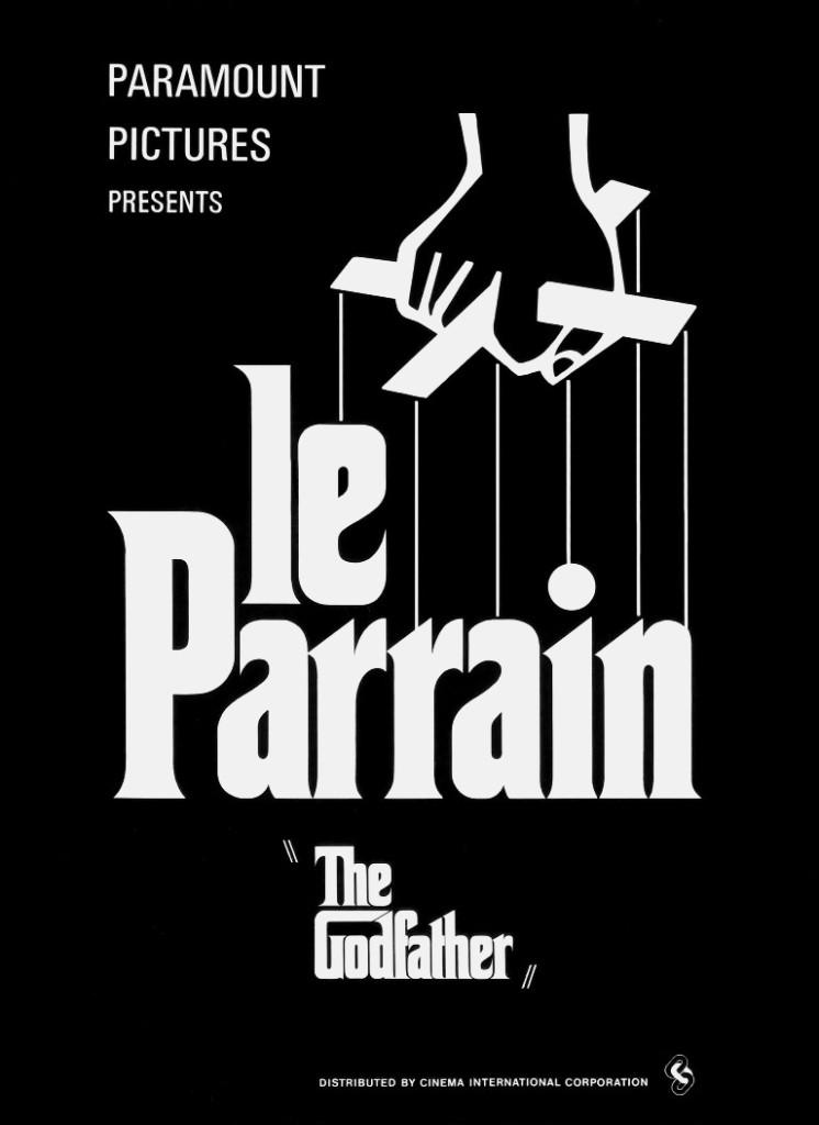 Le Parrain (The Godfather) - affiche