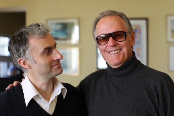 Peter Fonda et Pierre Filmon - Los Angeles.janvier 2015 - Photo james chressanthis