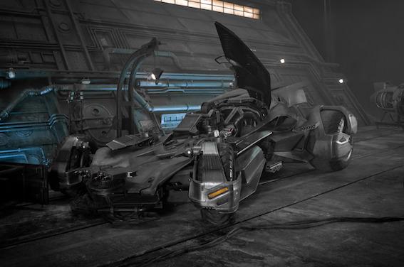 La Batmobile - Justice League de Zack Snyder