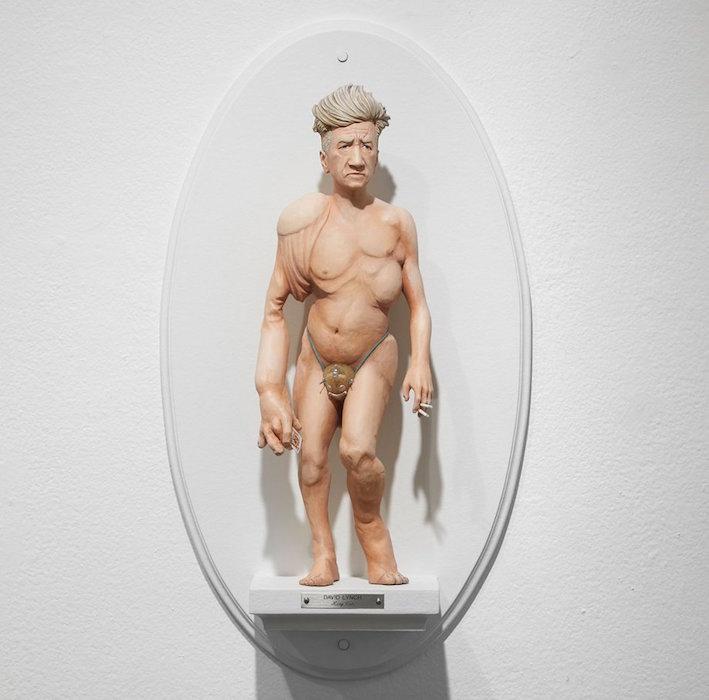 les sculptures hybrides de mike leavitt taillent les r alisateurs dans le vif cinechronicle. Black Bedroom Furniture Sets. Home Design Ideas