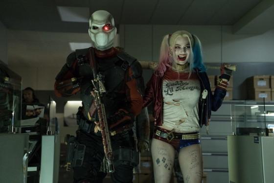 Harley Quinn (Margot robbie) et Deadshot (Will Smith) dans Suicide Squad de David Ayer