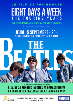 The Beatles- Eight Days A Week de Ron Howard - affiche