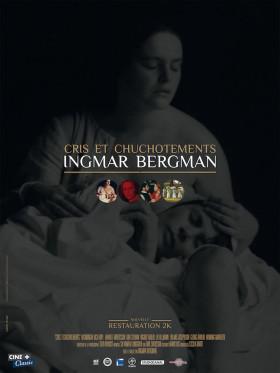 Cris et chuchotements de Ingmar Bergman - affiche