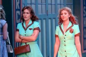 Kate Winslet et Juno Temple - tournage du nouveau Woody Allen