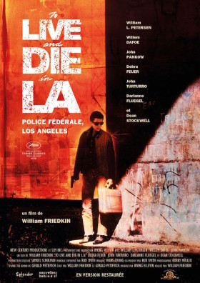 Police federale Los Angeles de William Friedkin - affiche