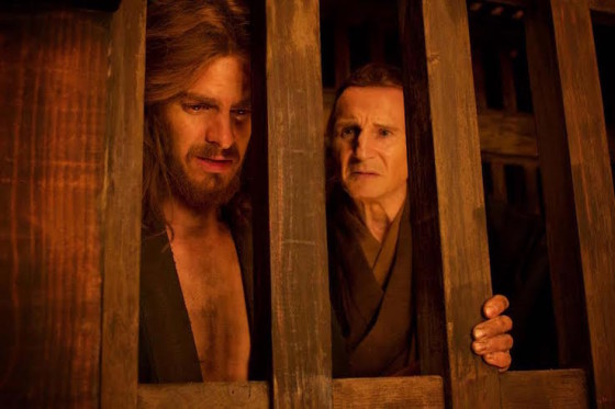 Andrew Garfield et Liam Neeson - Silence