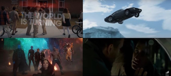 Strangers Things, Fast and Furious 8, Gardiens de la Galaxie 2, Life Origine Inconnue - bandes annonces Super Bowl 2017