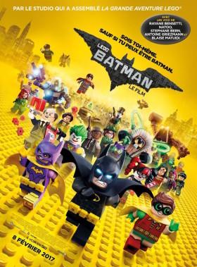 Lego Batman le film - affiche