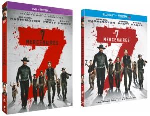 Les 7 Mercenaires - BR et DVD