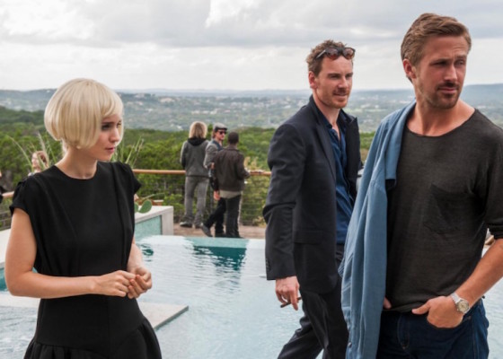 Rooney Mara, Michael Fassbender et Ryan Gosling - Song to Song