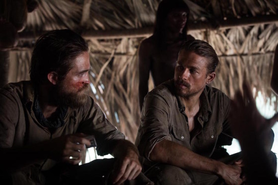 Charlie Hunnam et Robert Pattinson - The Lost City of Z