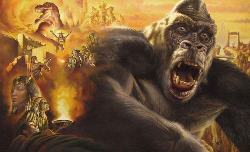 King Kong bientôt à la télé