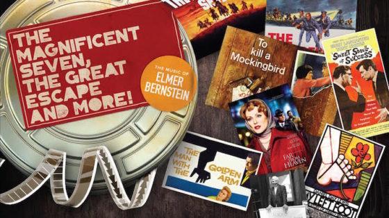 Affiche Elmer Bernstein concert Royal Albert Hall
