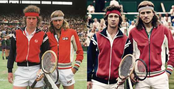 Borg vs McEnroe - photo