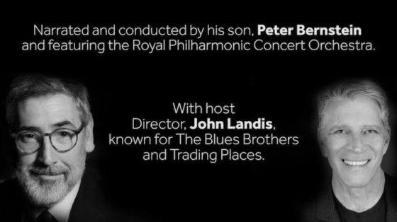 Elmer Bernstein - concert Royal Albert Hall - John Landis et Peter Bernstein