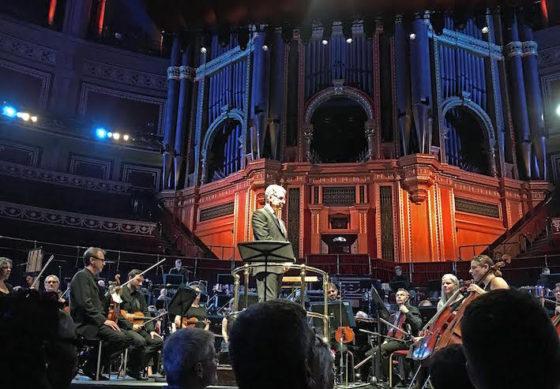 Elmer Bernstein - concert Royal Albert Hall - direction Peter Bernstein