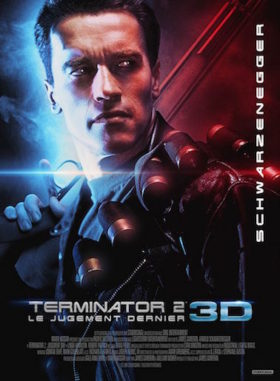 Terminator 2 3D - affiche