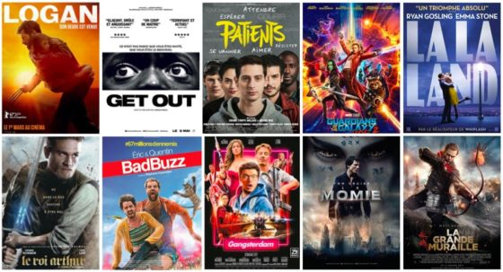 Top Flop premier semestre 2017 - cinema