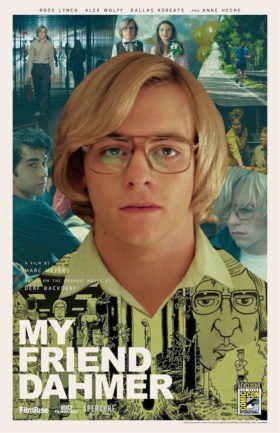 My Friend Dahmer - affiche