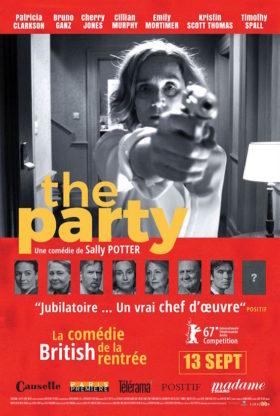 The Party de Sally Potter - affiche