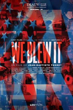 We Blew it - Jean-Baptiste Thoret - affiche