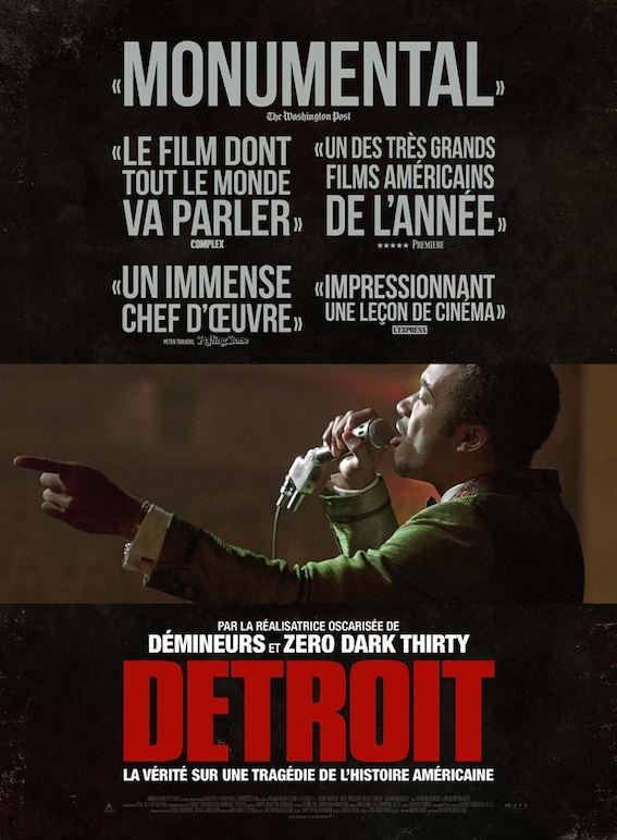 Detroit de Kathryn Bigelow - affiche