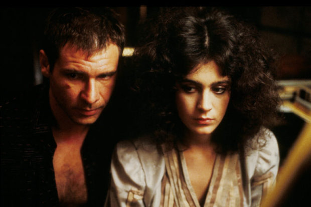 Harrison Ford et Sean Young - Blade Runner