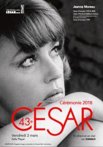 Jeanne Moreau - affiche Cesar 2018