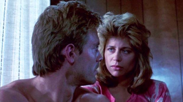 Michael Biehn et Linda Hamilton - Terminator
