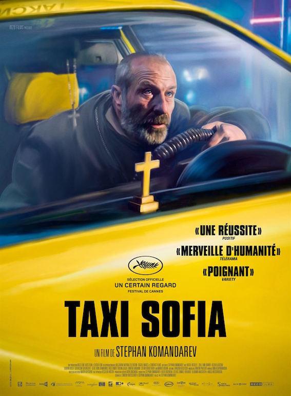 Taxi Sofia - affiche