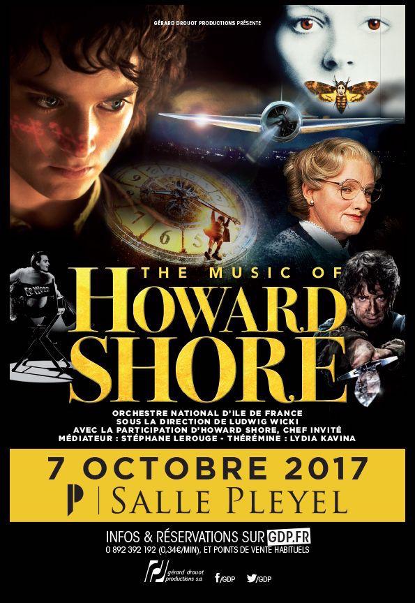 The Music of Howard Shore - Salle Pleyel