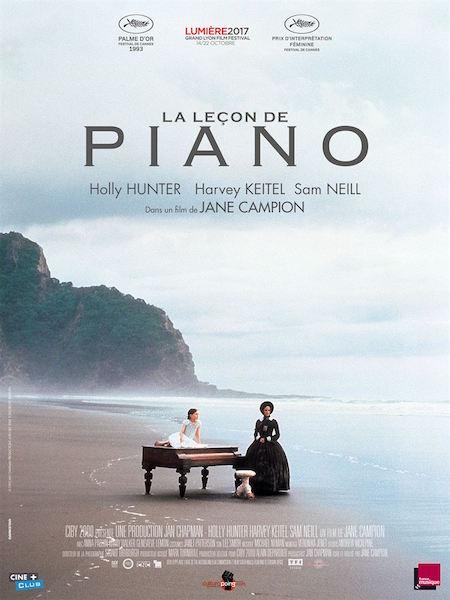 La Lecon de Piano - affiche ressortie