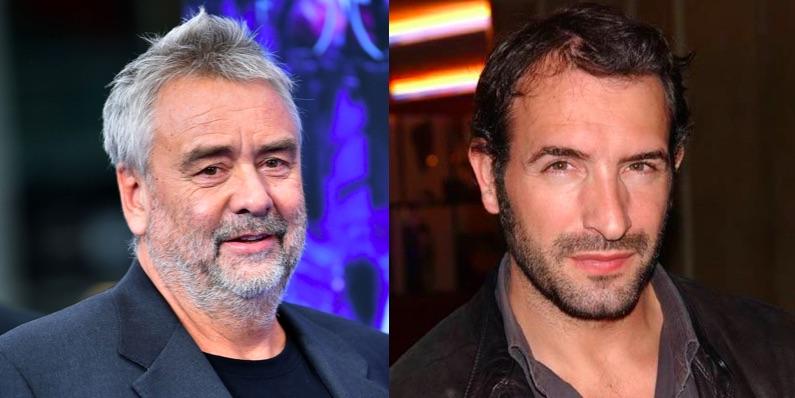Luc Besson et Jean Dujardin