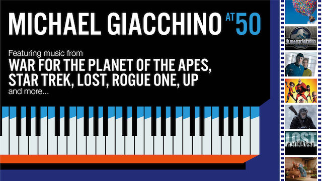 Michael Giacchino - 50 ans - Royal Albert Hall