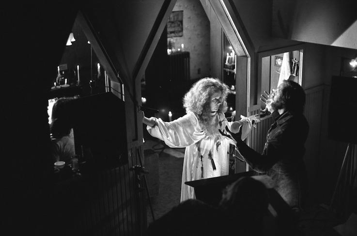 Piper Laurie et Brian De Palma - Carrie