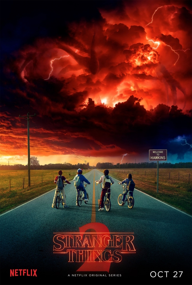 Stranger Things 2 - affiche