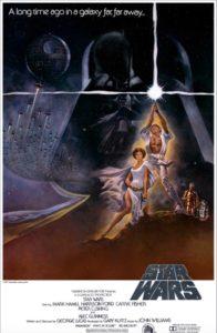 Star Wars Un Nouvel espoir - poster original