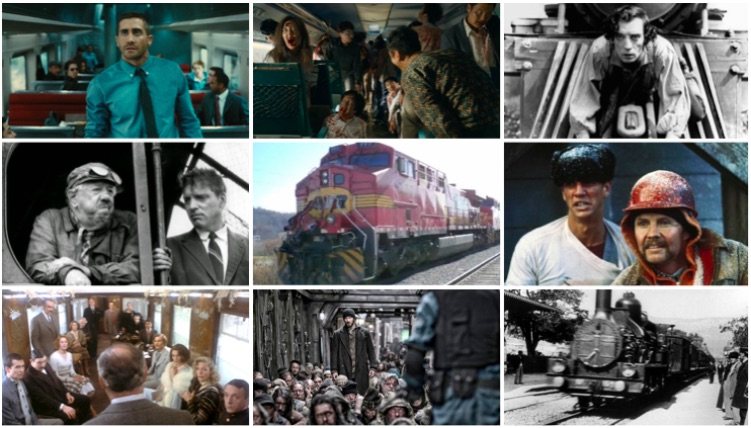Top 10 des films situe dans un train