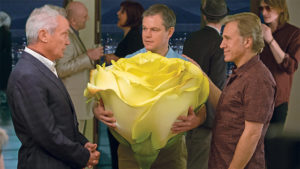 Udo Kier, Christoph Waltz et Matt Damon - Downsizing