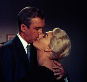 James Stewart et Kim Novak - Vertigo