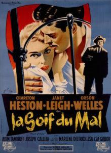 La Soif du Mal - Touch of Evil - poster