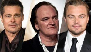 Brad Pitt - Quentin Tarantino - Leonardo Dicaprio