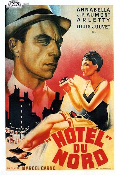 Hotel du Nord - affiche Illustrateur Rene Marcou