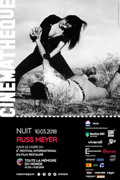 Nuit Russ Meyer - cinematheque francaise
