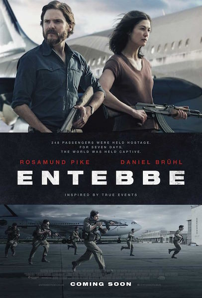 Otages a Entebbe - affiche