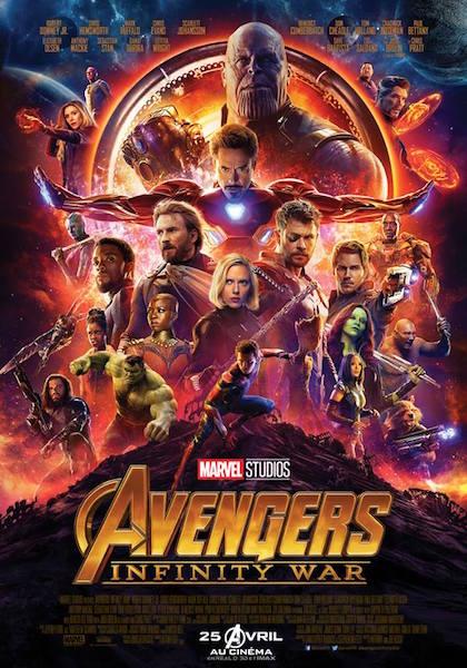 Avengers Infinity War - affiche