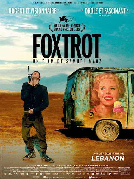 Foxtrot - affiche