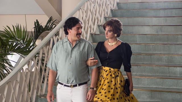 Javier Bardem et Penelope Cruz - Escobar