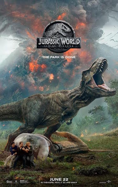 Jurassic World Fallen Kingdom - affiche US