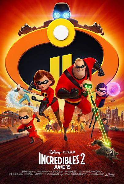 Incredibles 2 - poster